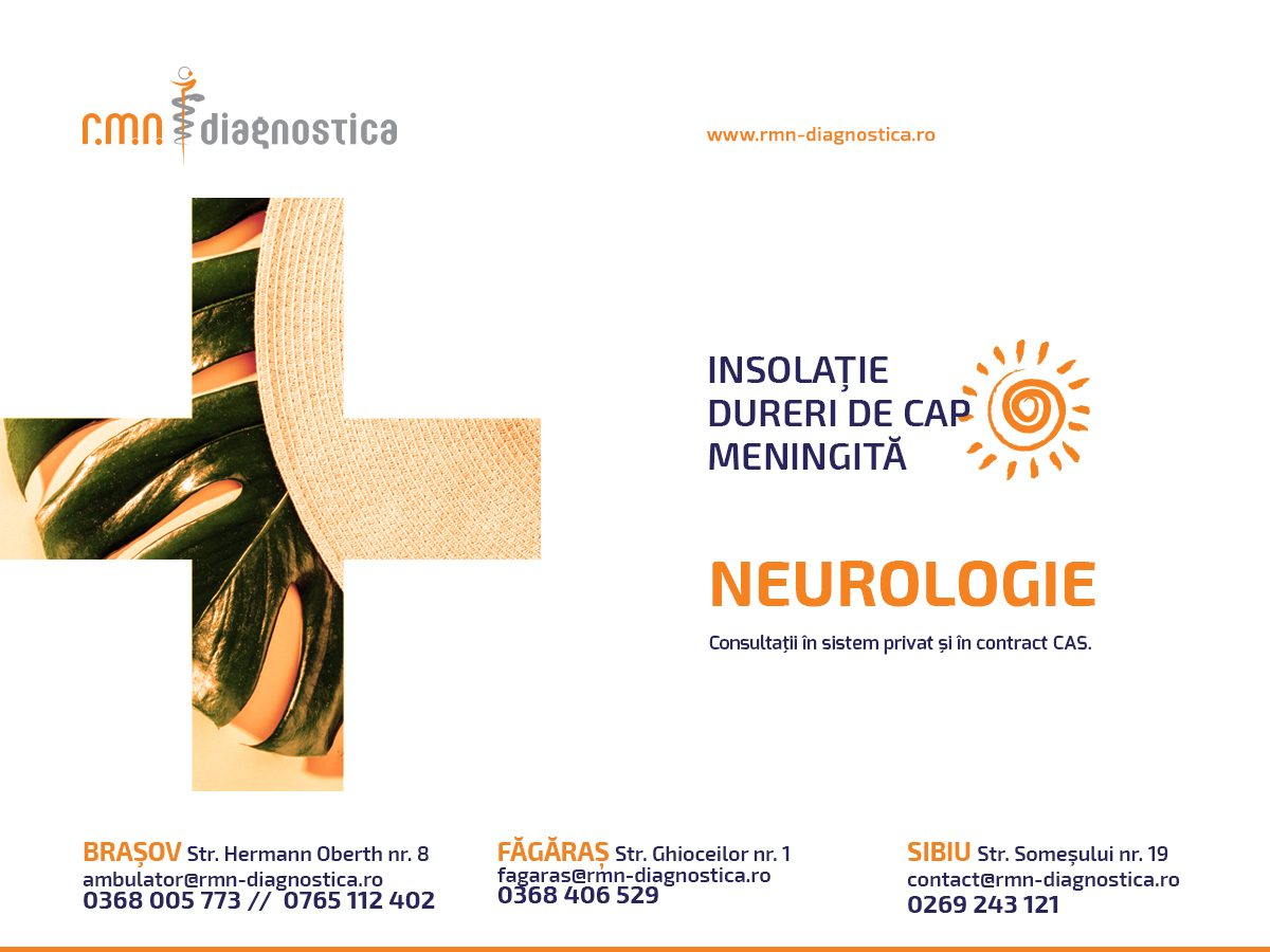 Consultatii neurologie RMN DIAGNOSTICA