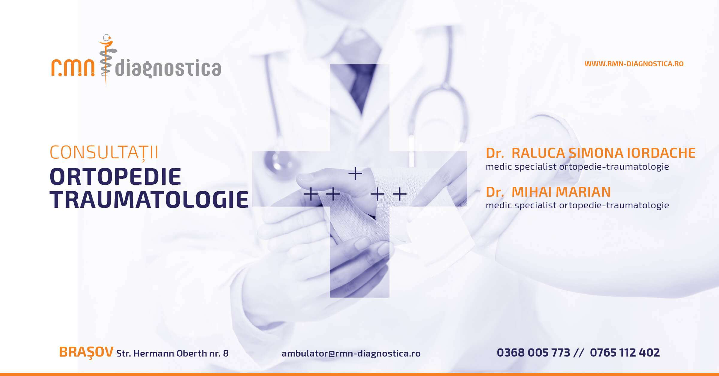 Ortopedie Traumatologie Brasov RMN Diagnostica