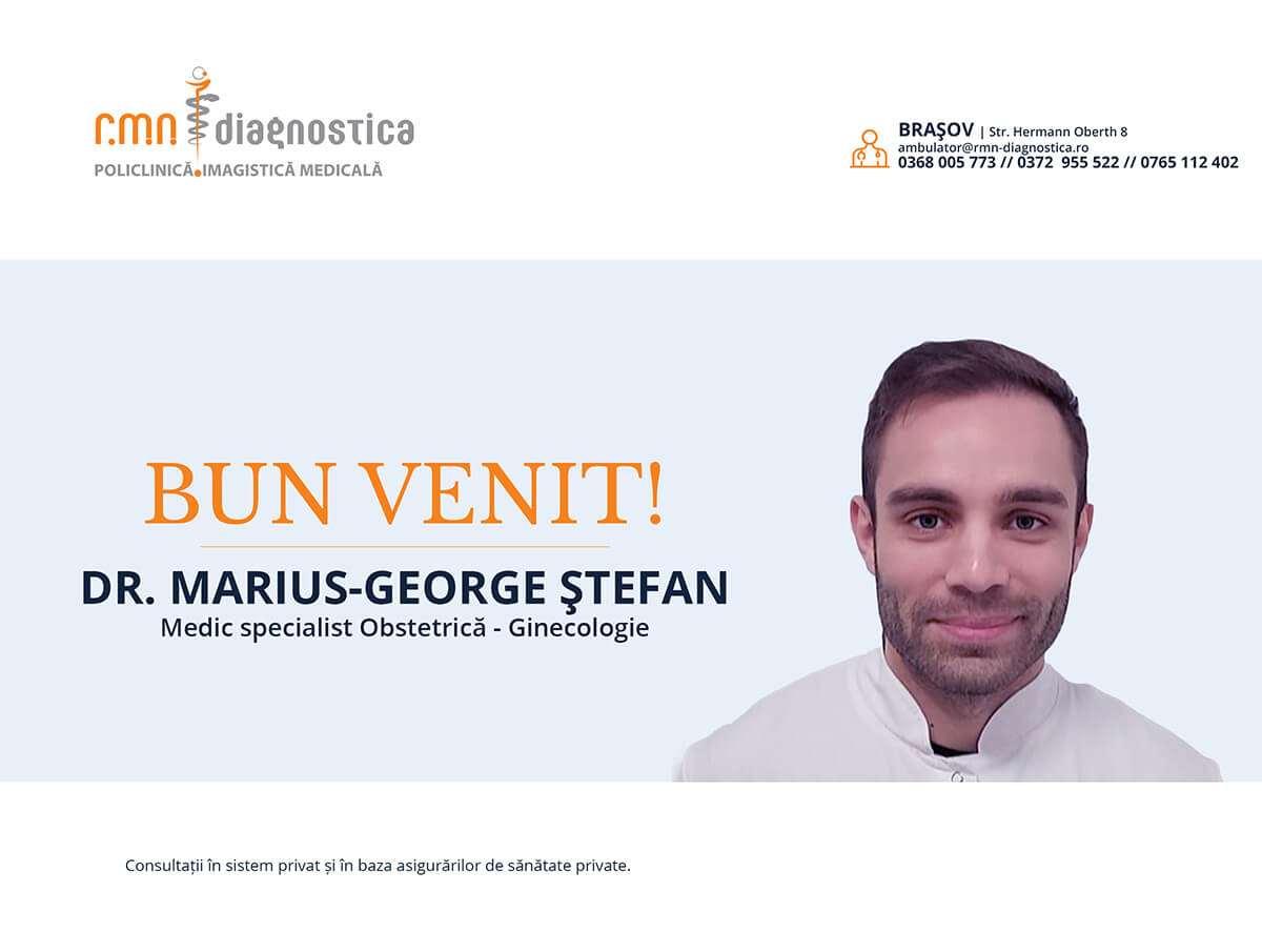 dr. Marius-George Ştefan bun venit RMN Diagnostica