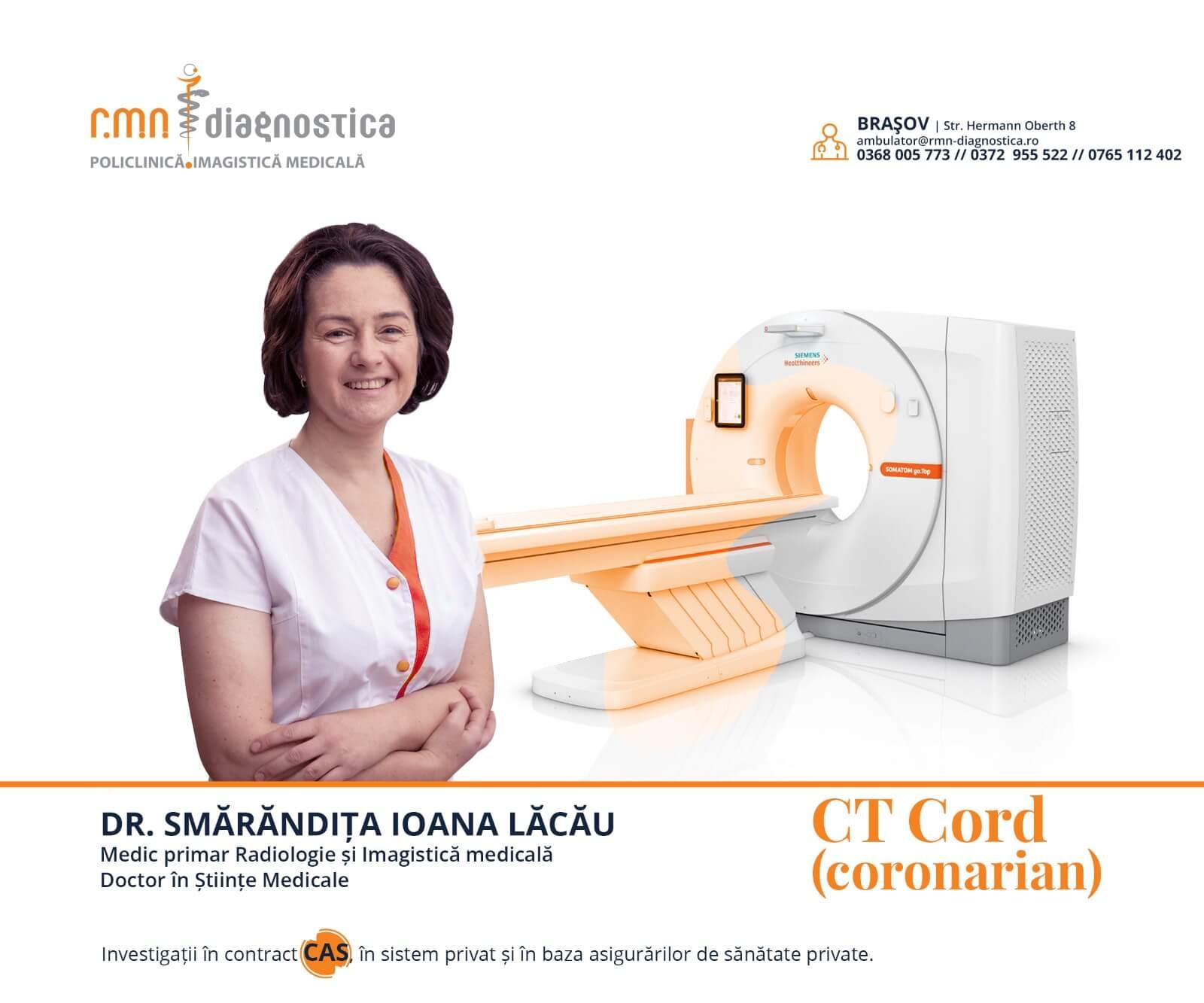Dr. Smarandita Lacau - medic primar Radiologie - Imagistica Medicala, Doctor în Științe Medicale